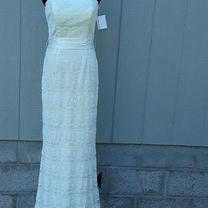 David's Bridal Ivory Wedding Dress NWT Size 4